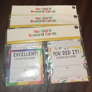 You Did It Reward Cards Congratulations 90 Count